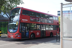 ML VWH2029 @ Walthamstow Central bus station (ianjpoole) Tags: metroline volvo b5lh wright eclipse gemini 3 lk64edp vwh2029 working route 34 walthamstow central bus station fitzjohn avenue barnet