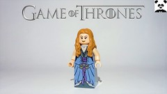 37 - Margarey Tyrell - Queen Consort (Random_Panda) Tags: lego figs fig figures figure minifigs minifig minifigures minifigure purist purists character characters films film movie movies tv show shows toy game thrones castle black the wall stark snow baratheon tully riverrun lord house tyrell margarey queen consort faith seven iron throne