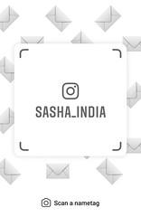 example of nametag for Instagram (Sasha India) Tags: instagram nametag instatag tag name sashaindia дизайн qrcode design 設計 디자인 التصميم σχέδιο डिज़ाइन வடிவமைப்பு desenhar projekt עיצוב desain envelope