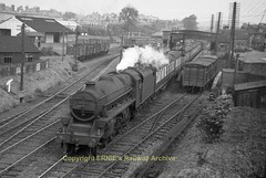 Dunblane 45100 1953 (Ernies Railway Archive) Tags: cr lms scotrail dunblanestation
