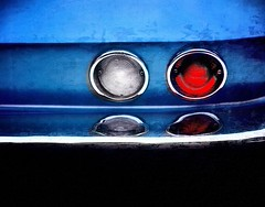 Blue Corvette Stingray (augenbrauns) Tags: car creativecapecod red vintagecar classiccar vintage classic corvettestingray corvette blue