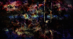 chains... (prole pinion) Tags: abstract abstraction expressionist abstractexpressionism futurist surreal distortion grunge layers layering photoshop color light
