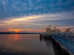 My ferry is a ghost ship (__db_) Tags: deutschland europa europe filtertest förde germany himmel kiel meer mönkeberg ostsee sonnenuntergang wolken maritim settingofthesun sky sundown sunset omd olympus hires