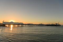 Palace Pier Sunrise (thegrolffalo) Tags: palacepier sunrise brighton eastsussex morning sea water coast architecture nikond850 nikon2470mm