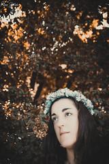 Olga V (Álvaro Hurtado) Tags: nikon d7200 sigma portrait retrato beauty creative conceptual chica girl bosque forest cara face árbol tree naturaleza nature parque park retiro madrid solitude loneliness fineart fine art