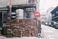 tofu pallets (YL.H) Tags: canon 500n hillvale street film analog taiwan 台北 taipei 底片