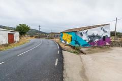 R18_0054 (ronald groenendijk) Tags: cronaldgroenendijk 2018 rgflickrrg art copyrightronaldgroenendijk extremadura fox graffiti outdoor road spain spanje