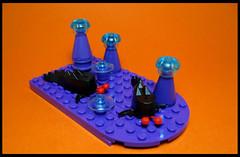 Dragon Slugs (Karf Oohlu) Tags: lego moc vignette slug dragonslug alienlife