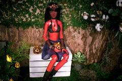Halloween Girl (Jade Eyed Cat >^<O>_<O>^<) Tags: azalea elf impldoll fgb starwoman bjd bjddoll abjd abjddoll balljointdoll ball joint doll balljointeddoll custom color