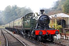 5541 GWR 4575 Prairie Tank (Roger Wasley) Tags: 5541 gwr 4575 prairie tank steam engine locomotive dean forest railway greatwestern trains