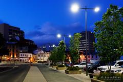 20181107-05-Hobart streets (Roger T Wong) Tags: 2018 australia carlzeiss35mmf28 hobart rogertwong sel35f28z sonya7iii sonyalpha7iii sonyfe35mmf28zacarlzeisssonnart sonyilce7m3 tasmania bluehour buildings evening lights street