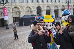 Just took a selfie with Salvini. Torino, November 2018. (joelschalit) Tags: italy italia salvini torino turin fascism lega selfies donald disney donaldduck mickeymouse europe europeanunion populism nationalism politics matteosalvini racism