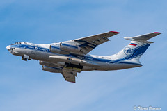 [ORY] Volga-Dnepr Airlines Ilyushin Il76 _ RA-76511 (thibou1) Tags: thierrybourgain ory lfpo orly spotting aircraft airplane nikon d810 tamron sigma volgadneprairlines ilyushinil76 ra76511 takeoff lajes lpla foone aircaraibes engine engineaircraft