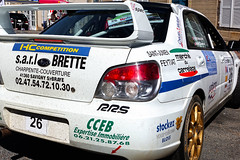 Subaru Impreza at the Rallye du Pays de Saint-Yrieix 2018 (Lady Goldie) Tags: rallyepaysdesaintyrieix rally race car vehicle styrieix france motorsport driving automobile voiture