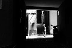 Slow and easy (Leica M6) (stefankamert) Tags: stefankamert street people light dark black film analog grain alley bellagio italy sun leica m6 leicam6 noir noiretblanc blackandwhite blackwhite bw baw summicron dr dualrange kodak trix
