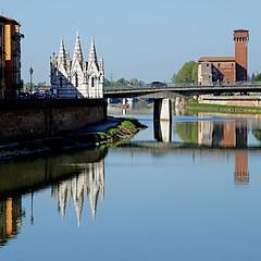 Pisa, Toscana, Italia (pom'.) Tags: panasonicdmctz101 april 2018 pisa toscana tuscany italia italy europeanunion arno santamariadellaspina arsenalerepubblicano pontesolferino 100 200 300 400 500 5000