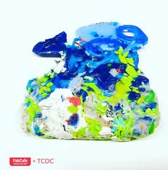 PLASTIC GEMS (fabcafe.bangkok) Tags: preciousplastic whatdoyoufab fabcafebangkok fabcafextcdc upcycling