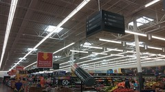 Find your own way (Retail Retell) Tags: hernando ms walmart desoto county retail black decor 20 supercenter store 5419 interior exterior quirks pickup here former portrait studio remodel construction front end online grocery building expansion addon structure parking lot service program