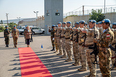 Besuch des Österreich-Camps von UNIFIL in Naquora