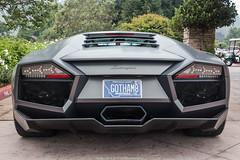 Batman (Hunter J. G. Frim Photography) Tags: supercar hypercar car week 2018 monterey carmel carweek california lamborghini reventon v12 italian matte black nero coupe carbon lamborghinireventon