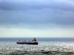 libecciata a Savona (fotomie2009) Tags: balcorama sea mare savona storm clouds liguria italy italia nave boat ship landscape paesaggio libecciata