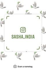 example of nametag for Instagram (Sasha India) Tags: instagram nametag instatag tag name sashaindia дизайн qrcode design 設計 디자인 التصميم σχέδιο डिज़ाइन வடிவமைப்பு desenhar projekt עיצוב desain paloma dove 鳩