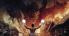 ''It Simply Isn't An Adventure Worth Telling If There Aren't Any Dragons'' (snc_indo) Tags: dragon edit fit fitness smaug hobbit movie fire building old middleage danger cool teeth destruction