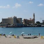 The Paradise Beach, the Montazah Gardens, Alexandria, Egypt. thumbnail