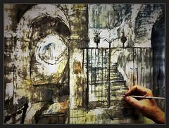CRIPTA-SEU-MANRESA-PINTURA-ART-PINTURES-FOTOS-PINTANT-BASILICA-SANTA MARIA DE L'AURORA-REIXA-ESCALES-QUADRES-COL·LECCIÓ-ARTISTA-PINTOR-ERNEST DESCALS (Ernest Descals) Tags: cripta seu manresa laseudemanresa interior interiors interiores into pintar pintant pintando escales stairs escalones debajo altar reixa fero forjat mistica llocs mistics lugares misticos fotos fotografia pintor pintores pintors paint pictures basilica santamariadelaurora barcelona catalunya catalonia cataluña catedral catedrals catedrales basilicas atmosfera painter painters paintings painting col·leccio coleccion pintura pinturas pintures cuadro cuadros quadres art arte artwork gotic gotico gotica goticas barroc barroco verja escaleras monument monumentos historics historicos arquitectura architecture historia history retoques ernestdescals