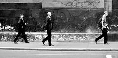 Hi Ho, Hi Ho . . . . . (jaykay72.) Tags: london uk street candid streetphotography gracechurchstreet stphotographia blackandwhite bw