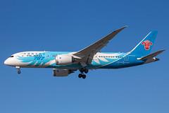 China Southern - Boeing 787-8 Dreamliner B-2788 @ London Heathrow (Shaun Grist) Tags: b2788 chinasouthern boeing 787 dreamliner landing 27r lhr egll london londonheathrow heathrow airport aircraft aviation aeroplanes airline avgeek