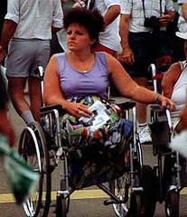 Legless at the Fair 03 (jackcast2015) Tags: disabledwoman disabled disabledlady wheelchair wheelchairwoman crippledwoman crippledlady amputee amputeewoman dak a nolegs