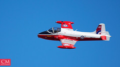 Jet Provost - East Fortune 2018 (Chazzum) Tags: airshow airbus airplane aircraft east fortune eastfortune scotland national red arrows british german american wwii photography cold war mustang typhoon bronco texan mig15 museum