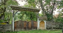 Delureni Tor (wernerfunk) Tags: door portal tor landschaft rumänien dwwg