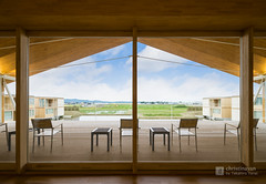 Terrace space of SUIDEN TERRASSE (christinayan01 (busy)) Tags: architecture building perspective hotel shigeru ban yamagata japan