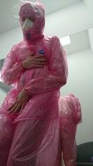 pvc rainsuit (coatrPL) Tags: pvc płaszcz płaszczyk przeciwdeszczowe plastic raincoat rainwear rainsuit rainjacket fetish