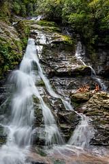 North Georgia (Jon Ariel) Tags: highshoals waterfall water girls northgeorgia georgia ga green tree