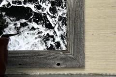Malibu (David K. Edwards) Tags: photograph bw corner print frame wall hanging restaurant malibu california