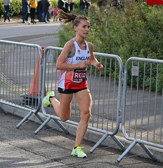 Lucy Reid - Commonwealth Half Marathon (Sum_of_Marc) Tags: half marathon cardiff 2018 october commonwealth champs championships run running sport athletics runner runners uk wales caerdydd cymru race roath park roathpark road