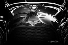 Straight (david.horst.7) Tags: car auto automobile vehicle vintage duesenberg modela bw blackandwhite