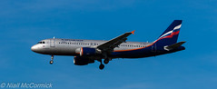 VP-BKC Aeroflot - Russian Airlines Airbus A320-214 (Niall McCormick) Tags: lhr heathrow airport london egll aviation vpbkc aeroflot russian airlines airbus a320214