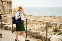 Außenministerin Karin Kneissl besucht Byblos und archäologische Ausgrabungen in der Umgebung