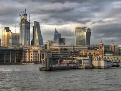 Thames Southbank Walk, London, England (PaChambers) Tags: europe london 2018 southwark cityoflondon bermondsey summer architecture england uk
