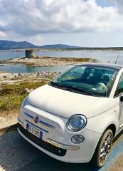 Fiat500 (letkata) Tags: italia italy summer sardegna mare sea fiat500 stintino laspelosa sardinia