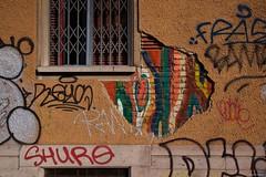 IMGP2959 Art on scar (Claudio e Lucia Images around the world) Tags: viaventimiglia portagenova milano street streetart navigli portaticinese darsena art murales graffiti sigma pentax pentaxk3ii pentaxart sigmaart sigma1020