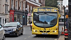 First Bus 69363 in York City Centre. (ManOfYorkshire) Tags: 69363 wright wrightbus bus eclipse volvo b7rle york citycentre yellow allover advert yj08xyb first group company firstyork justtapgo smartcard