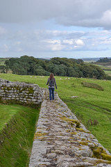 Hadrian's Wall (I'm a sea) Tags: hadrians fort hadrian wall walking field country countryside green nature outdoors english england lake district trees forest sky travel