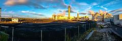 Drax Visit (Peter Leigh50) Tags: panorama industrial landscape sky people fujifilm fuji xt2