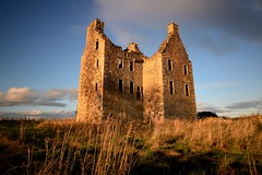 Knockhall Castle, Newburgh (iancowe) Tags: knockhall castle knockhallcastle newburgh aberdeenshire river ythan scotland scottish autumn sunset evening ruin ruins udny fool laird