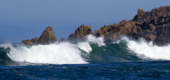 Here and Now (Keith Midson) Tags: trialharbour westcoast tasmania coast sea ocean waves wave rocky rocks shoreline shore seascape